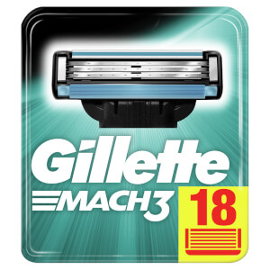 Gillette Mach3 Rasierklingen (18 Stück)