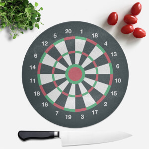 Dartboard Round Chopping Board