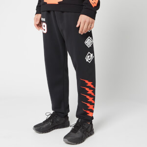 adidas Men's ID Fl GRFX Sweatpants - Black