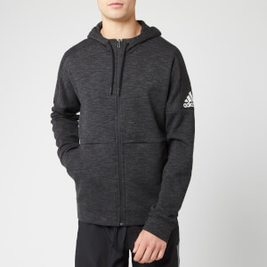 adidas Men's ID Stadium Full Zip Hoodie - Black