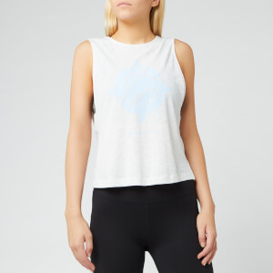 adidas Women's Wanderlust Graphic Tank Top - White