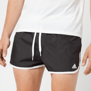 adidas Men's Split Swim Shorts - Black