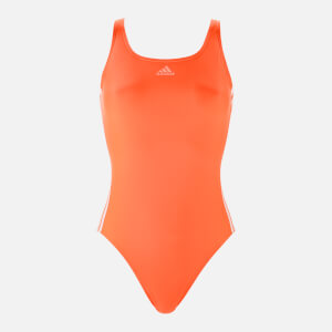 adidas Women's Fit Swimsuit - Orange