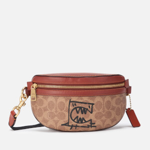 Coach 1941 Women's Coated Canvas Signature Rexy by Guang Yu Belt Bag - Tan Rust