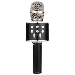 AV: Link Karaoke Party Microphone - Black