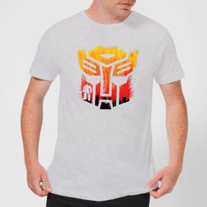Transformers Autobot Symbol Men's T-Shirt - Grey