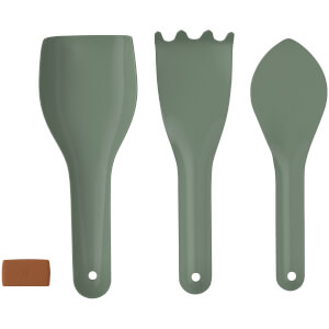 RIG-TIG Green-It Gardening Tools - Set of 3 - Green