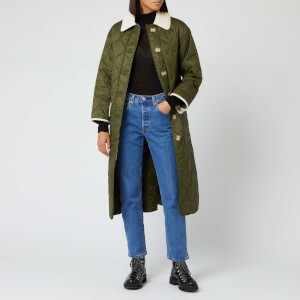 Barbour Women's Alexa Chung Annie Quilt Jacket - Military Green