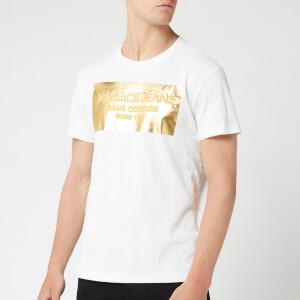 Versace Jeans Men's Foil Logo T-Shirt - Bianco Ottico