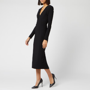 Bec & Bridge Women's Elke Midi Wrap Dress - Black