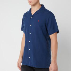 Polo Ralph Lauren Men's Camp Collar Shirt - Holiday Navy