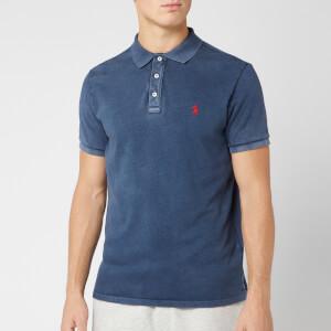 Polo Ralph Lauren Men's Towelling Polo Shirt - Cruise Navy