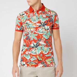 Polo Ralph Lauren Men's Mesh Polo Shirt - Vintage Palm Island