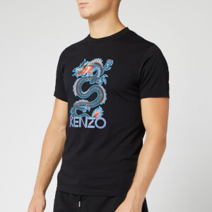 KENZO Men's Dragon Slim T-Shirt - Black