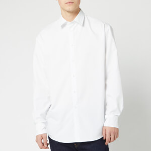 KENZO Men's Back Logo Shirt - White