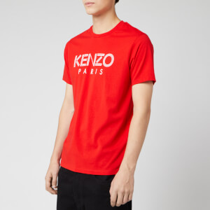 KENZO Men's Paris T-Shirt - Red