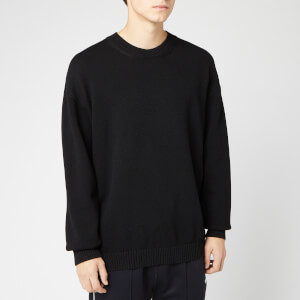 KENZO Men's Knitted Back Paris Logo Jumper - Black