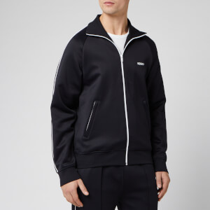 KENZO Men's Jersey Track Jacket - Black
