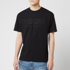 KENZO Men's Paris Mesh T-Shirt - Black