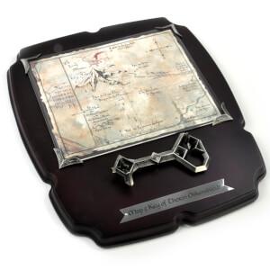 "The Hobbit Thorin's 15 x 13"" Map & Key Replica"