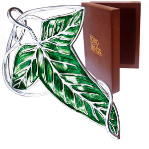 Lord of the Rings Elven Leaf Brooch Replica
