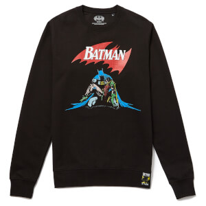 Batman 80th Anniversary 80s Death Sweatshirt - Black