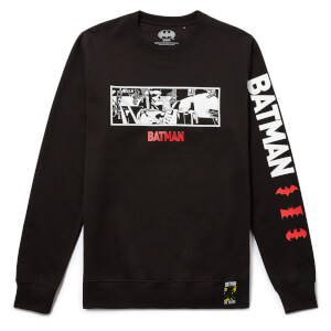 Batman 80th Anniversary Batmobile Sweatshirt - Black