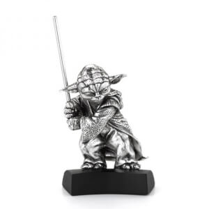 Royal Selangor Star Wars Yoda Pewter Figurine 4.5cm