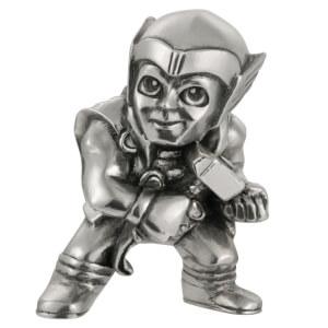 Mini-figurine Thor en étain Marvel - 5cm - Royal Selangor