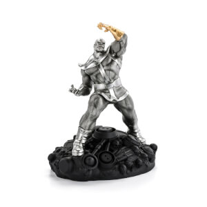 Royal Selangor Marvel Thanos the Conqueror Limited Edition Pewter Figurine 27.5cm (2000 Pieces Worldwide)