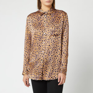 PS Paul Smith Women's Leopard Spot Oversized Shirt - Multi