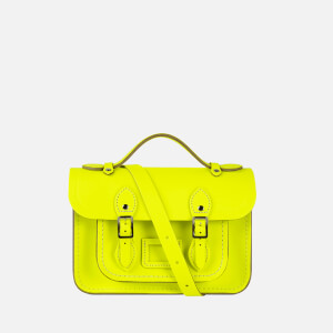 The Cambridge Satchel Company Women's Mini Satchel - Fluoro Yellow