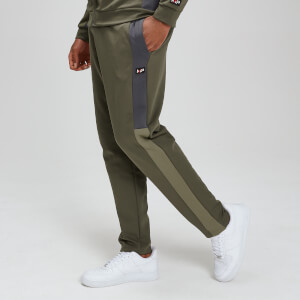 Colourblock Track Pants - Ljusbrun