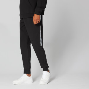 Logo Tape Joggers - Sort