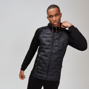 Elite Quilted Jacket - Musta