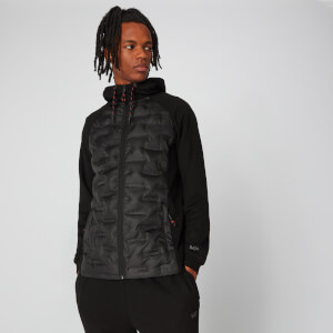 Elite Quilted Jacket - Black