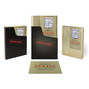 Dark Horse Legend of Zelda The Legend of Zelda Encyclopedia Deluxe Hardcover Art Book