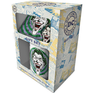 DC Originals - The Joker (HaHaHa) Mug, Coaster and Keychain Set