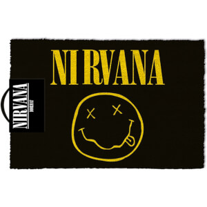 Nirvana (Smiley) Doormat