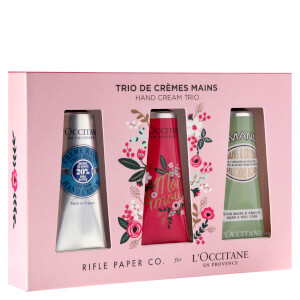 L'Occitane Rifle Paper Co. Hand Cream Trio (Worth $36.00)