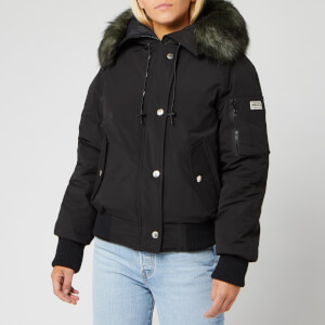 KENZO Women's Technical Outerwear Nylon Parka - Black