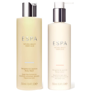 ESPA Bergamot and Jasmine Body Collection