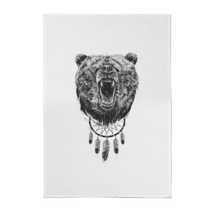 Dreamcatcher Bear Cotton Tea Towel