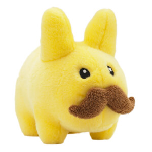 Kidrobot Frank Kozik Labbit 18cm Yellow Stache Plush