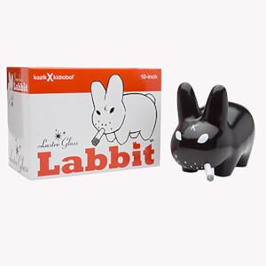 Kidrobot Frank Kozik Smorkin' Labbit 10 Inch Vinyl Glossy Black Edition