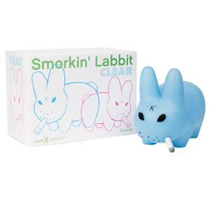 Kidrobot Frank Kozik Clear Blue Smorkin Labbit 10 Inch Figure