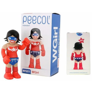 Kidrobot Peecol WG01 W Girl Wonder Woman 3.5 Inch Figure Designed By Eboy