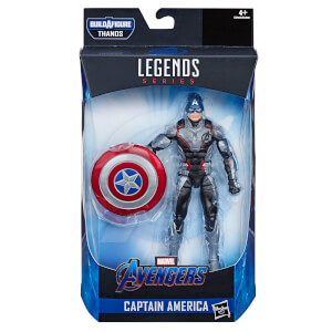 Hasbro Marvel Legends Series Avengers: Endgame 6 Inch Captain America Marvel Cinematic Universe Collectible Figure