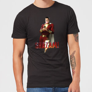 Shazam Bubble Gum Men's T-Shirt - Black