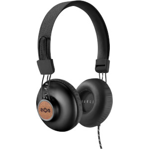 The House of Marley Positive Vibration 2.0 Headphones - Black